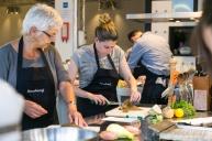 Dit was één van de vijf lessen van de kookcollege's 'Kooktechnieken voor beginners', wil je ook een keer kooklessen bij de Kookerij volgen? Januari 2016 starten we weer met deze cursus voor beginners EN met die voor gevorderden! Check hier en begin het nieuwe jaar straks goed: http://kookerij.com/technieken-beginners.html
